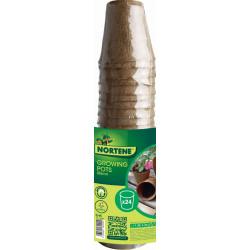 """24 pots pour semis """"Growing Pots""""- 100 % biodégradables - D 6 cm de marque NORTENE , référence: J4694100"""