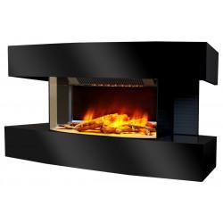 """Cheminée électrique décorative """"Lounge médium"""" - noire de marque CHEMIN'ARTE, référence: B4695100"""