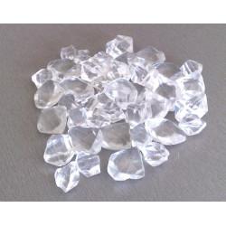 Pierres décoratives en fibre de verre transparente de marque CHEMIN'ARTE, référence: B4695600