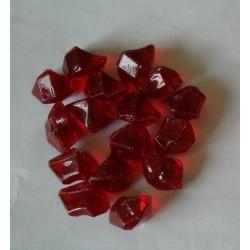 Pierres décoratives en fibre de verre rouge de marque CHEMIN'ARTE, référence: B4695700