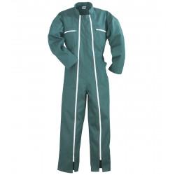 Combinaison de travail - 2 zip COMBI vert L de marque ROUCHETTE, référence: B4736500