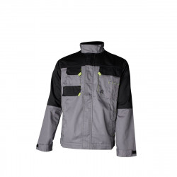 Veste de travail VESTE GRAPHITE gris L de marque ROUCHETTE, référence: B4737700