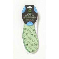 SEMELLE ACTIVE FRESH vert T36-46 de marque ROUCHETTE, référence: B4738900