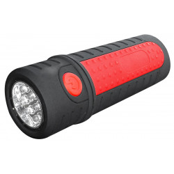 Baladeuse torche télescopique 27 + 6 LED - 150 Lumens de marque OUTIFRANCE , référence: B4745000