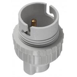 Douille nylon pour ampoules à baïonnette B22 de marque OUTIFRANCE , référence: B4759800