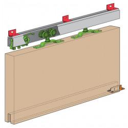 Ferrure husky - kit complet pour porte supplémentaire sur rail existant de marque HENDERSON, référence: B4764500