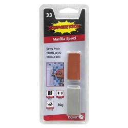 Mastic - Colle epoxy répare tout 30 g Cubes de marque SUPERTITE, référence: B4774600