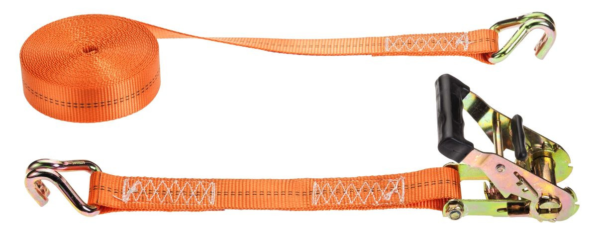 Sangle d'arrimage à crochets doigts serrés - 6m x 35mm