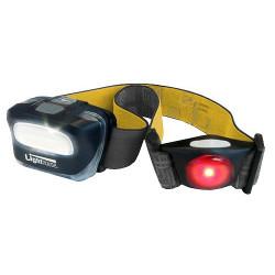 """Lampe frontale """"SPORT"""" led cob + flash arriere - 120 lumens de marque FAITHFULL, référence: B4815300"""