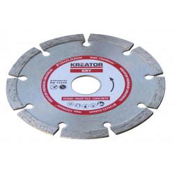 Disque diamant béton, pierre - Alésage 22,2 mm 1 disque 125 mm 2,0 mm de marque Kreator, référence: B4825400