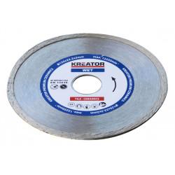 Disque diamant carrelage, faïence - Alésage 22,2 mm 1 disque 125 mm 2,0 mm de marque Kreator, référence: B4825600