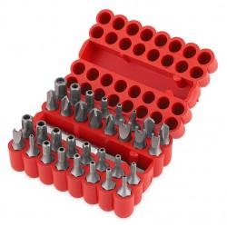 Coffret 33 pièces - 32 embouts + porte embouts de marque Kreator, référence: B4844800