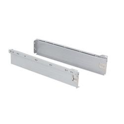 Kit de tiroir Ultrabox hauteur 86 mm et profondeur 450 mm finition gris métallisé de marque EMUCA, référence: B4875400