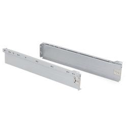 Kit de tiroir Ultrabox hauteur 86 mm et profondeur 500 mm finition gris métallisé de marque EMUCA, référence: B4875500