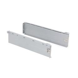 Kit de tiroir Ultrabox hauteur 150 mm et profondeur 450 mm finition gris métallisé de marque EMUCA, référence: B4876600