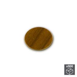 Lot de 900 pastilles adhésives D. 20 mm en finition marron de marque EMUCA, référence: B4883500