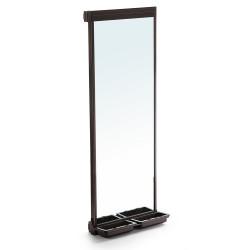 Miroir extractible pour l'intérieur de l'armoire Moka de marque EMUCA, référence: B4914400