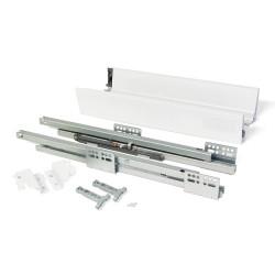 Kit de tiroir Vantage-Q hauteur 83 mm et profondeur 500 mm finition blanc de marque EMUCA, référence: B4928900
