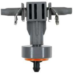Goutteur en ligne régulateur de pression pour micro irrigation 2 L/h