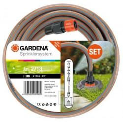 Tuyau d'arrosage de raccordement grand débit 19 mm - 2 m de marque GARDENA, référence: J364100