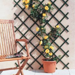 Treillis extensible en PVC 1 x 2 m vert TREILLIFLEX de marque NORTENE , référence: J432400