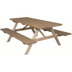 Table pique-nique 200 cm de marque Jardipolys, référence: J477200