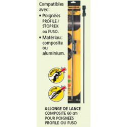 Allonge de lance composite 0,60 profile de marque BERTHOUD , référence: J245700
