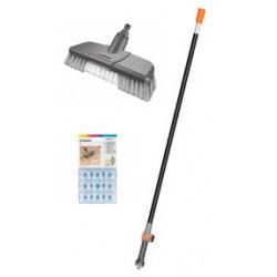 Kit brosse de nettoyage pour terrasses de marque GARDENA, référence: J298400