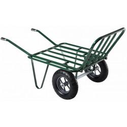 Brouette Agricola 2 roues gonflées de marque HAEMMERLIN, référence: J342800
