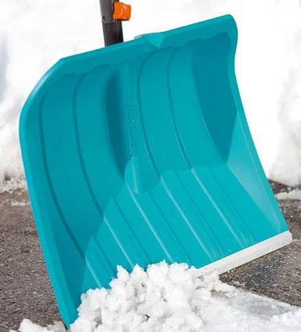Pelle à neige raclette alu 50 cm
