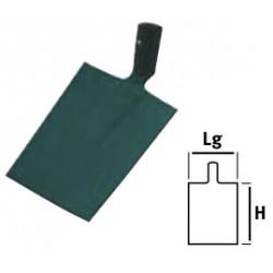 Pelle Bresse carrée  21cm sans manche de marque Leborgne, référence: J663200