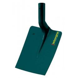 Pelle carrée tôle 25cm sans manche de marque Leborgne, référence: J663600