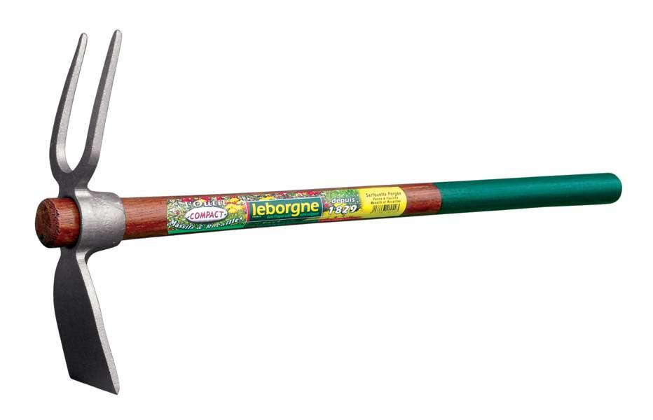 Serfouette forgée - panne et fourche 22 cm Lebogne