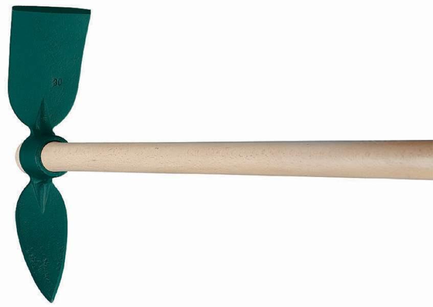 Serfouette forgée - panne et langue 30 cm