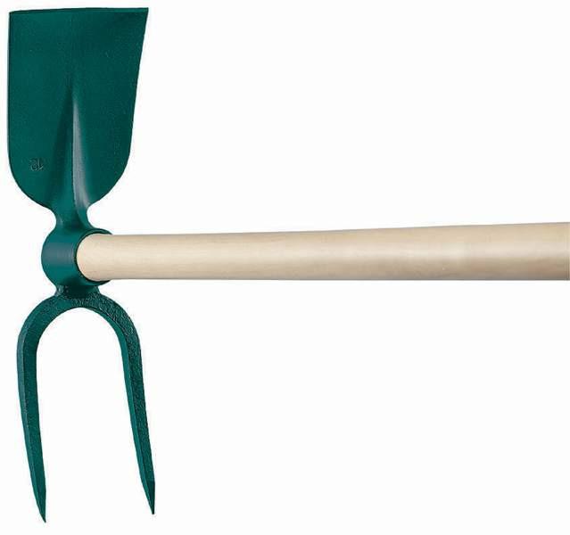 Serfouette à vigne - panne et fourche 38 cm
