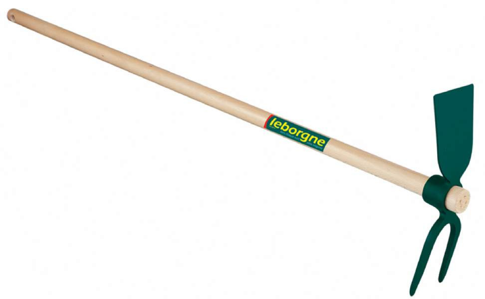 Serfouette forgée - panne et fourche 30 cm