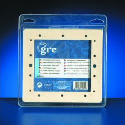 Joint double de skimmer standard de marque GRE POOLS, référence: J644000