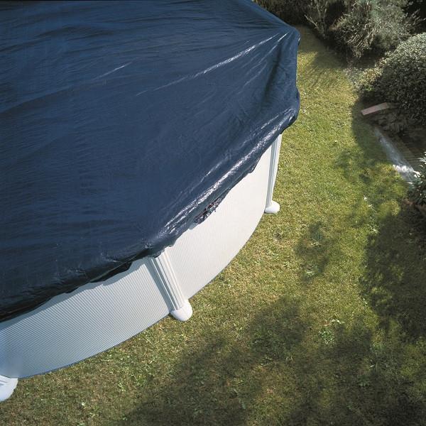 Bâche hiver 120g /m² pour piscine 10 x 5,50m