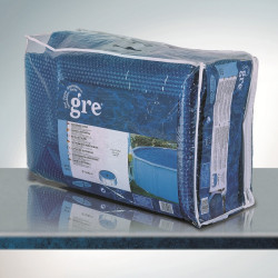 Bâche à Bulles 180 µ 6,40 x 3,90m de marque GRE POOLS, référence: J633400