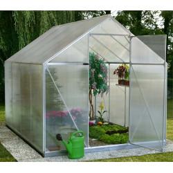 Serre de jardin  ALUSTAR 3 - 4 mm de marque EINHELL , référence: J357300
