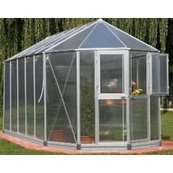 Serre  de jardin en Alu ORANGERIE 2/6 de marque EINHELL , référence: J358200