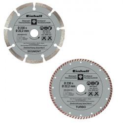 Disques diamantés 230 mm de marque EINHELL , référence: B29900