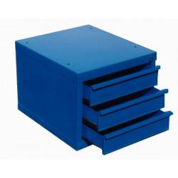 Bloc 3 tiroirs bleu de marque OUTIFRANCE , référence: B329500