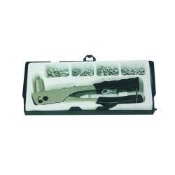 Coffret pince à riveter + rivets 2,4 à 4,8mm de marque OUTIFRANCE , référence: B528200