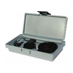 Coffret scies cloche + lames + mandrins + mèche et clé de marque OUTIFRANCE , référence: B340600