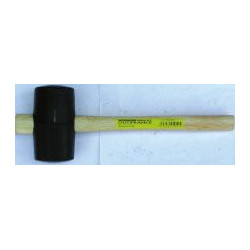 Maillet caoutchouc 54 mm de marque OUTIFRANCE , référence: B408700