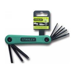 Jeu de 8 clés Torx de marque STANLEY, référence: B465100