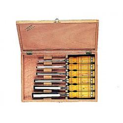 Ciseaux à bois manches bois de marque OUTIFRANCE , référence: B277500