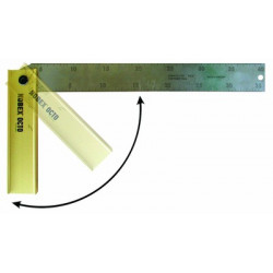 Equerre à onglet pliante 300 mm Nobex de marque OUTIFRANCE , référence: B281600