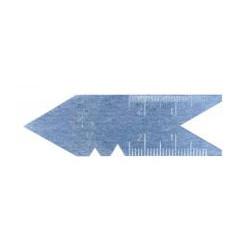Calibre de filetage, angle 55° de marque OUTIFRANCE , référence: B368300